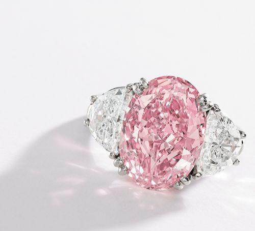 6.54 carat pink diamond