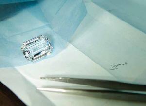 loose colorless diamond