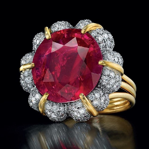 Christie's Jubilee Ruby Playing Catch Up to Sotheby's Blue Diamonds