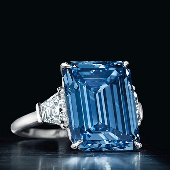 Upcoming Geneva Auctions to Reveal Three More Very Unique Blue Diamonds