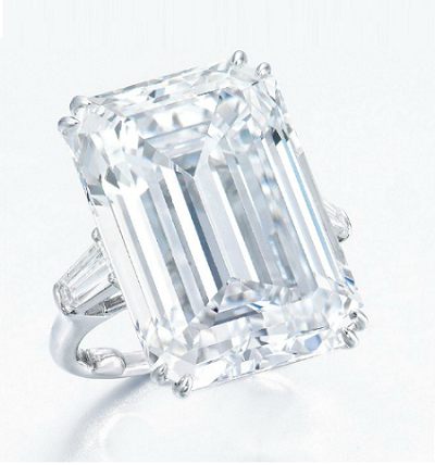 25.58 carat harry winston diamond ring