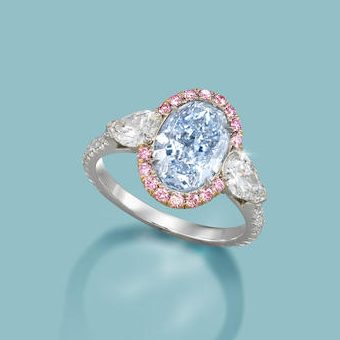 Unique Blue Diamond Ring Will Sell Privately After Shown To The World By Bonham's