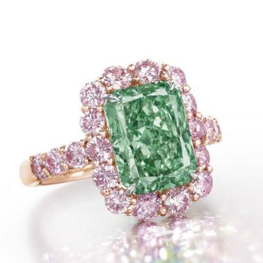 Christie's Unveils the Aurora Green Diamond