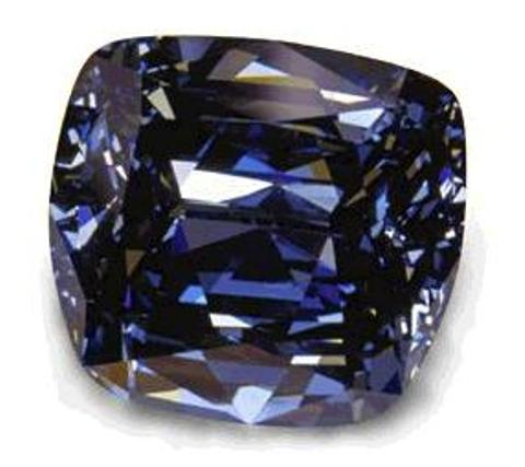 the blue lili diamond