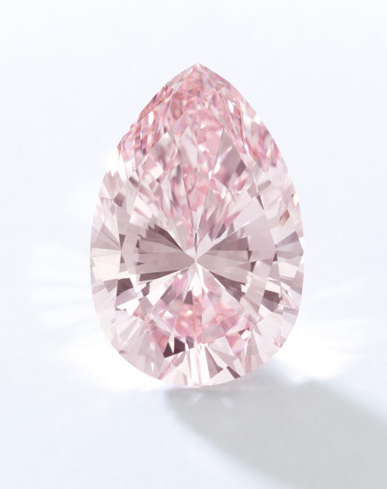 13.20 carat fancy intense pink if diamond