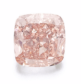 4.00 Carat Fancy Intense Orangy Pink SI2 diamond