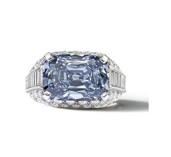 5.30 carat Fancy Deep Blue Diamond