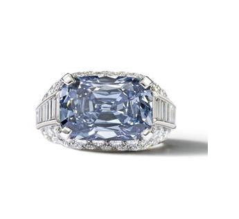 5.30 carat Fancy Deep Blue Diamond