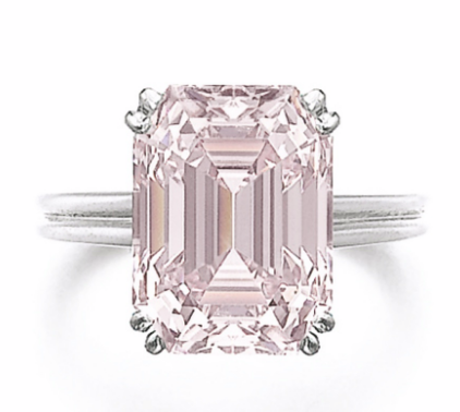 8.73 carat Fancy Intense Pink VVS2 diamond