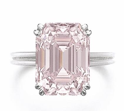8.73 carat Fancy Intense Pink VVS2 diamond