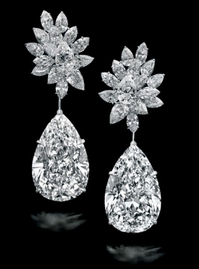 Mirroir De L'amour earrings