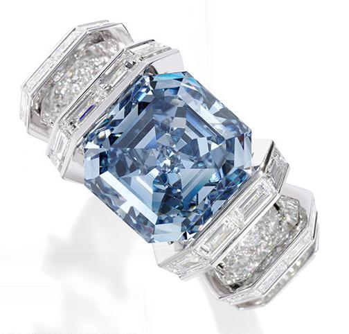 sky blue diamond