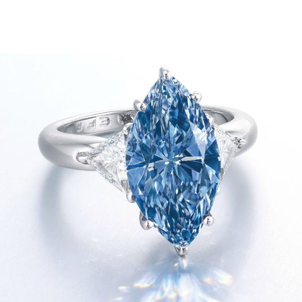 Will The Moussaieff Fancy Vivid Blue Diamond Break It's Own World Record?