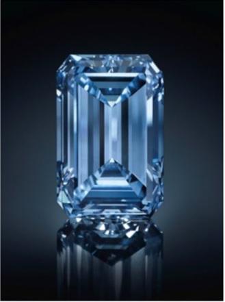 14.62 carat openheimer blue
