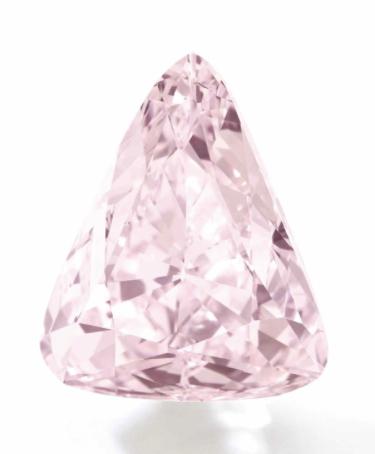 18.51 carat Fancy Pink VVS1 diamond