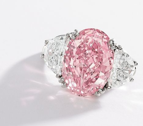 6 54 Carat Fancy Intense Pink Diamond Image Credit Sothebys