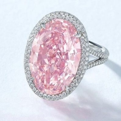"""The Pink Promise"" Diamond Comes Through And Breaks Records Set By ""The Unique Pink"" Diamond"
