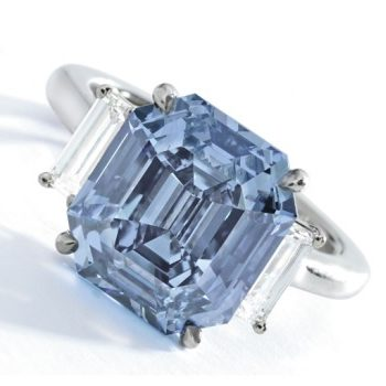 Sotheby's Will Turn The Big Apple Into A Big Blue Diamond Next Month