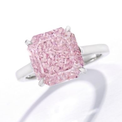 Sotheby's Feeling Optimistic With Pink And Blue Diamonds In NY