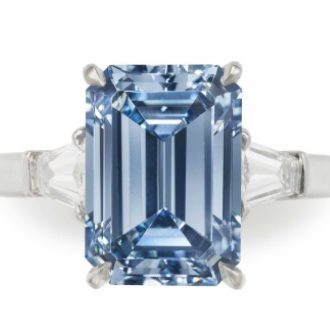 New World Records For Fancy Color Diamonds At Christie's NY