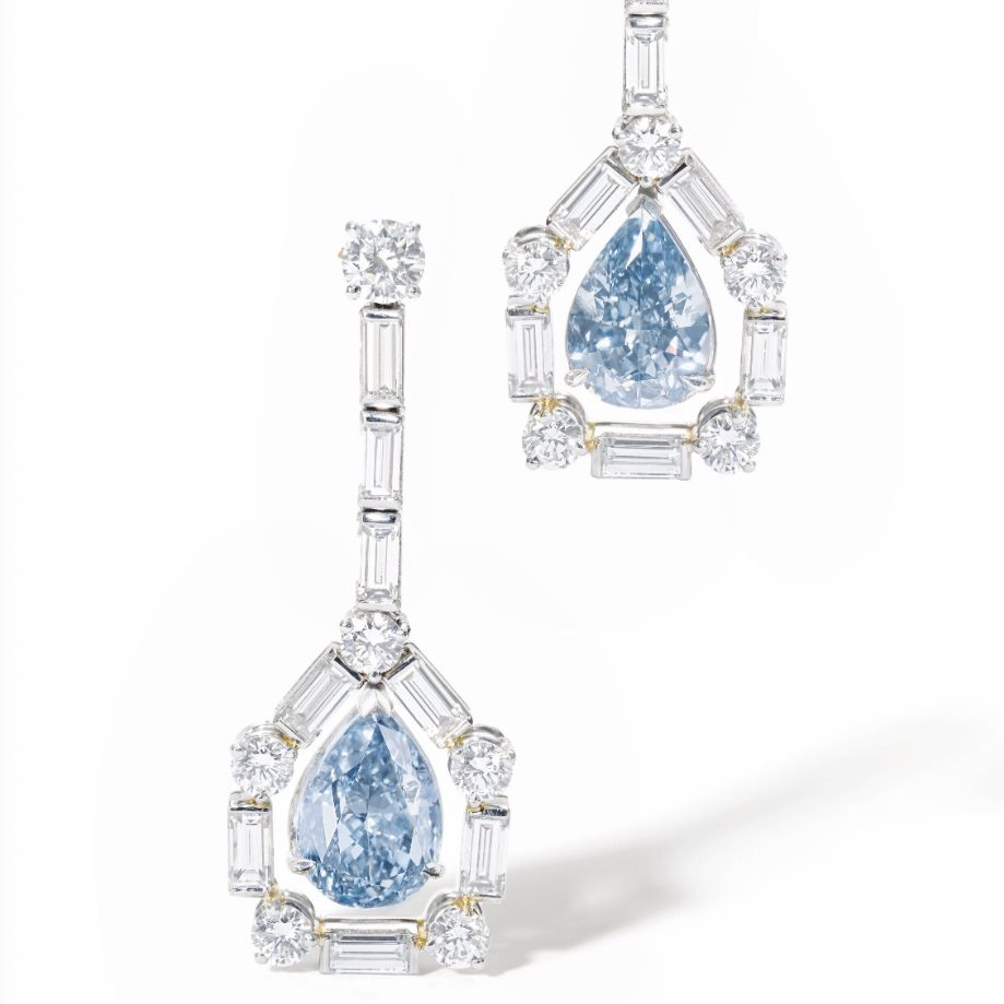 Sotheby's Geneva Magnificent Jewels And Noble Jewels Featuring Blue Diamonds